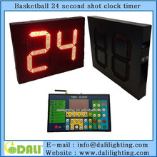 LED electronic outdoor basketball shot clock timer function