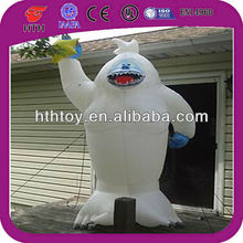 christmas decoration inflatable abominable snowman