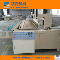rolling and welding Automatic plastic board fold welding all-in-one pc machine