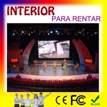 stage background decoration, full color led display video wall, flight case packing