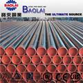Astm a53 bs1387 iso 65 api5l soldada de acero al carbono de tubos con pintado de negro o anti- moho de aceite