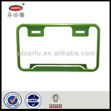 Plastic customize licence plate with great price