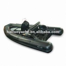 Outboard fiberglass hull boat rib (rib500C)