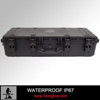 Hard plastic military long soft gun case /waterproof equipment case