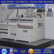 One-off indentation forming Automatic electrical carton board Touch Line machine with ISO/BV
