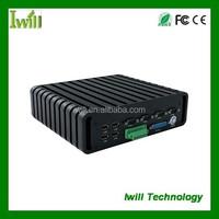 i3/i5/i7 CPU Ibox-QM87 mini fanless pc for HTPC/ car computer
