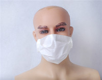 3 layers mouth and nose protective paper face mask for nurse