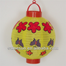 Hanging indian cloth lanterns for festival decorations