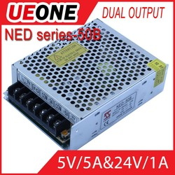 Made in china 50W Dual output switching power supply 24vac power supplies
