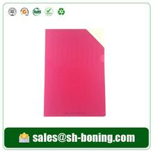 2014 New design pp emboss red archive folder