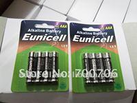 Euni cell 1.5v AAA AM4 LR03 Alkaline dry Battery