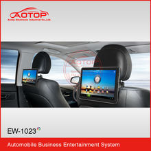 car headrest monitor dvd with Wifi,3G Function,FM transmitter,Capacitive Touch Screen,USB