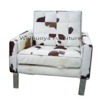 Top Quality Barcelona Chair Modern design Horse Hair sofa
