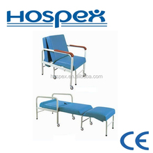 HH687 hospital furniture sleep or rest chair for patient family