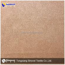 Poliéster tecido de camurça / 100% polyestersuede tecido sintético