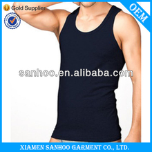 Attractive Y Back Mens Jersey Tank Top Available With Customized Designs Low Cost
