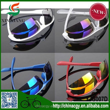 Outdoor sports fashion colorful wind bicycle riding Glasses Sunglasses Sport Parkour glasses