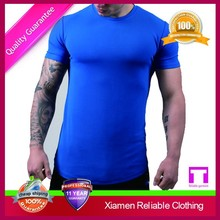 OEM anti pilling quick dry anti shrink polyester spandex sublimation high quality sport t shirt for men