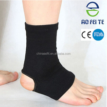 Alibaba Express high elastic ankle sleeve knitted ankle brace as seen on TV