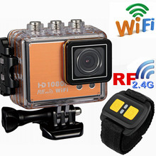 Full HD 1080P 1.5INCH, remote control Sports cam waterproof WIFI action camera