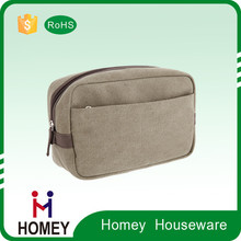 New Product Luxury Quality Competitive Price Customised Reusable Canvas Make Up Bag
