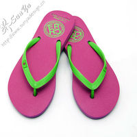 Custom design beach flip flops beach sandles