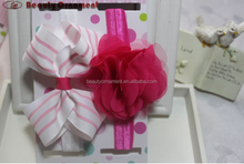 Children's jewelry wholesale fashion boutique hair ribbon outfit Lovely beautiful hair band combination