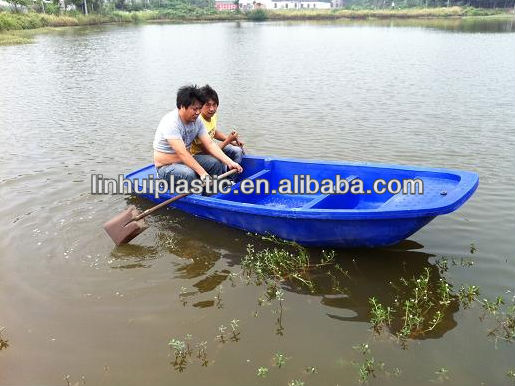 Offer rotomolding lightweight plastic fishing boat for Portable fishing boat