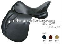 Linda dressage leather racing horse saddle
