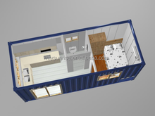 The Newest fast installation export prefab low cost prefab container house
