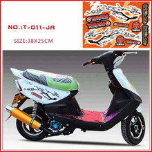 Free design transparent UV motorcycle sticker/decal for SUZUKI
