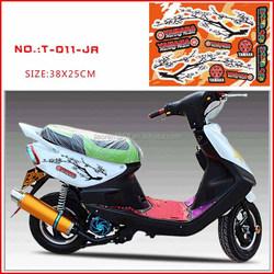 transparent High temperature resistant motorcycle/car sticker/decal for SUZUKI