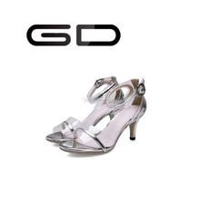 Sandálias do salto elevado de senhoras Sapatos de estilete