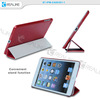 for ipad mini case-wonderful transparent,folio ultra thin case for ipad mini 1 2 3 4