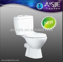b1103 caliente diseño de cuarto de baño de lavado de dos piezas de baño