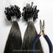 2015 Grade 6A hot sale unprocessed human hair Pony Tail