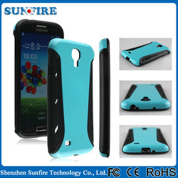 Fashion racing car 2 in 1 shockproof case for samsung galaxy s4