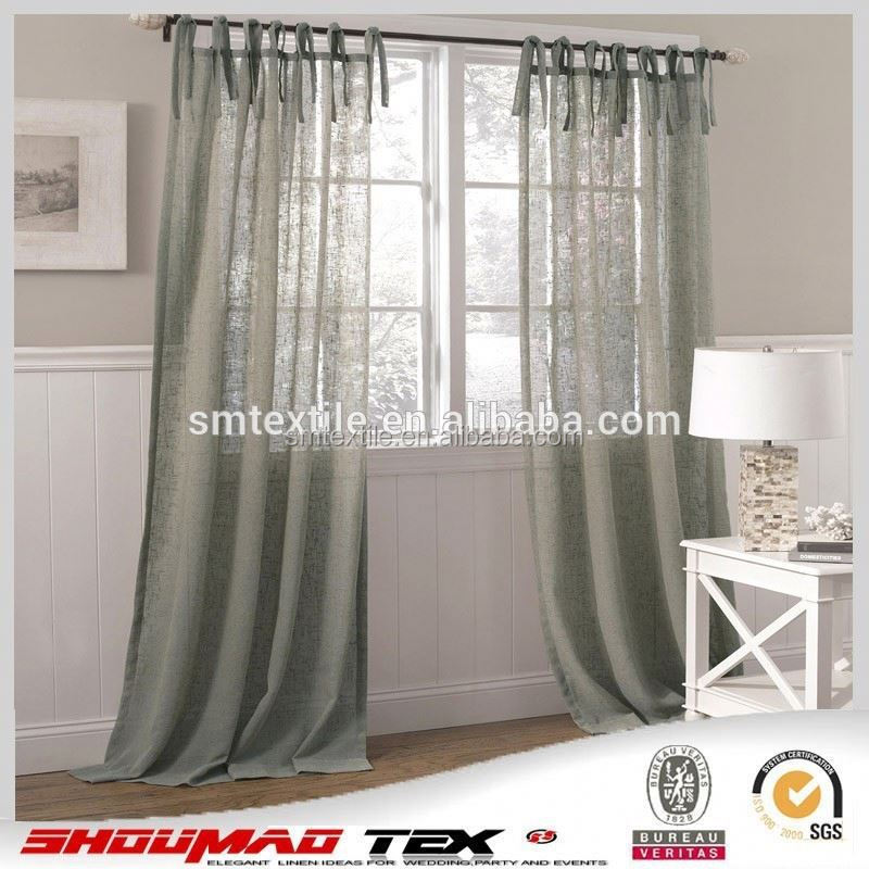 Good Quality Elegant Burlap Jute Living Room Curtains Buy Elegant Living Room Curtains Elegant
