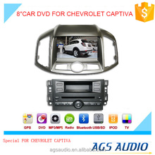 8 inch car dvd gps navigation for CHEVROLET CAPTIVA system with TV/Bluetooth/iPod/RDS/mp3/radio