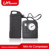 12 volt DC portable car mini air compressor for multi-function car jump starter
