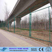 stainless steel fence post/basketball fence netting/fence lighting fixture