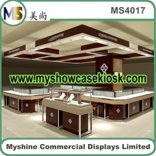 Modern Small Wooden Jewelry Display Case For Sale