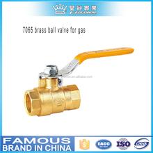 7065 brass ball valve for gas