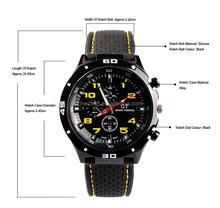 New Quartz men Sports watch women Casual Watches Cycling F1 GT wristwatch Dropship Rubber Silicone