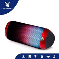 Best Stereo Sound 2*7W Super Bass Bluetooth Portable Speakers For Mobile Phones