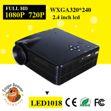 Trade manager supply projector 60 lumens led and V2.0 with hard disk support DLP projector for home entertainment