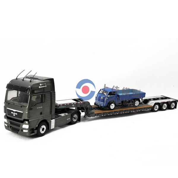 Custom Toy Semi Trucks : Man truck diecast model semi trailer custom made