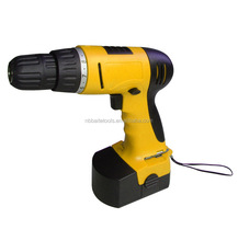 12V Cordless drill, 16+1 torque settings, rechargeable battery drill