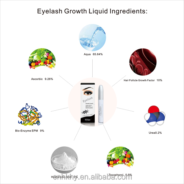HAPPY PARIS Eyelash Growth Liquid Super Eyelash Enhancer Serum