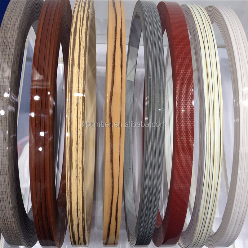 Pvc abs furniture 2mm plastic table edge band for kitchen for Abs trimming kitchen cabinets